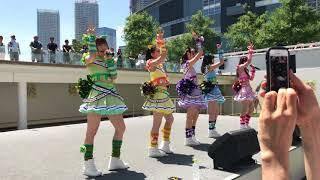 わーすた 「JUMPING SUMMER」リリースイベント 1部 @ららぽーと豊洲 【1...