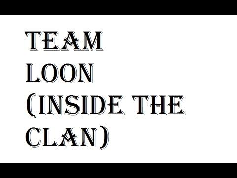 Halloween Forum Event - Team Loon (Inside of the clan)