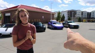 She Chose the Acura NSX!