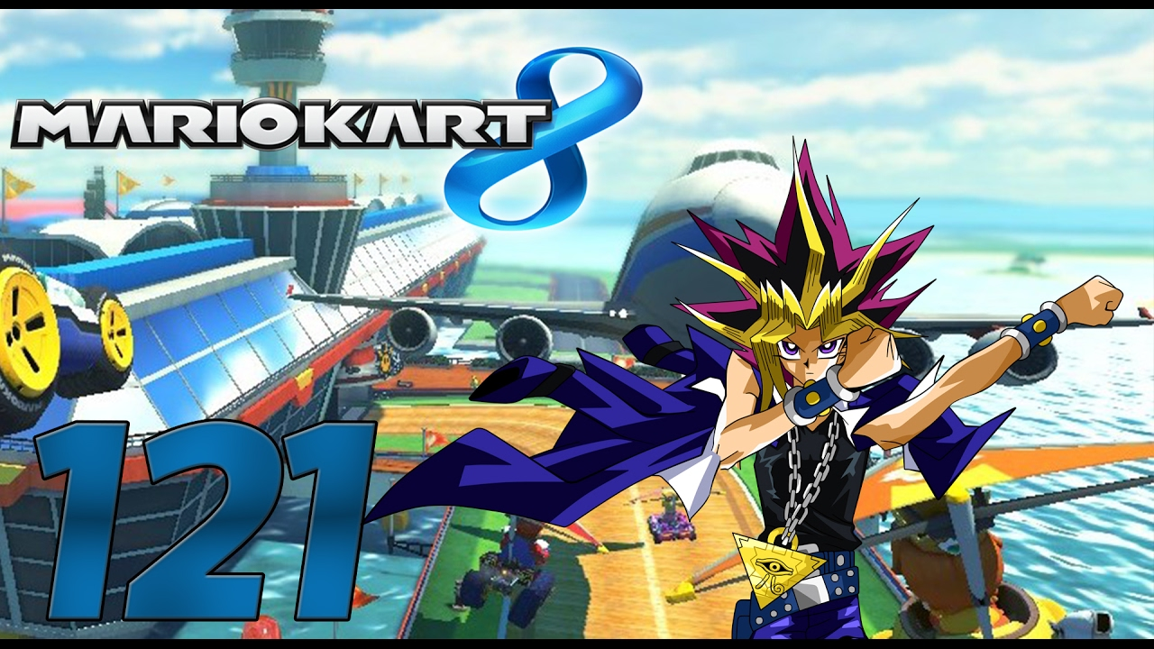 Lets Play Mario Kart 8 Online Part 121 Dabbende Yu Gi
