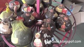 Dai viet Ruou Dua coconut liqueur special from Ben Tre province