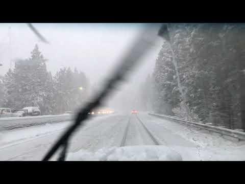 Nightmare Traffic Northern California Snow Storm.. 11/26/2019