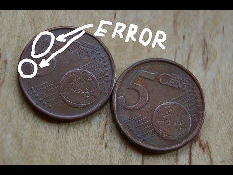 5 Euro Cent 1999 ERROR And 2000 Finland