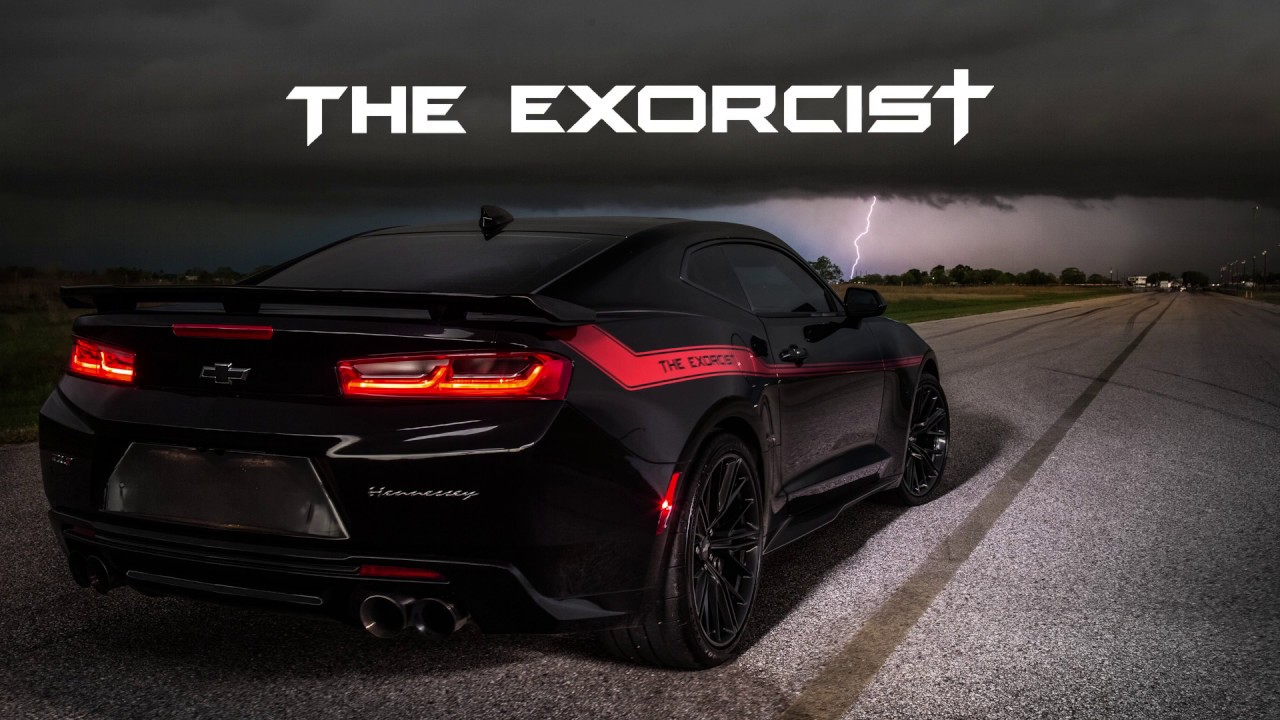 Hennessey Trolls Dodge S Demon With 1000 Hp Camaro Zl1