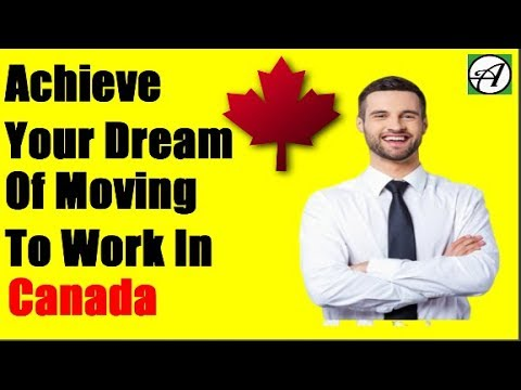 How To Move To Work In Canada