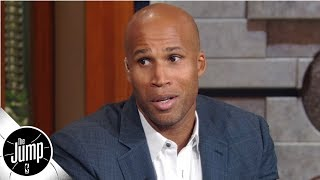 Do you know how many phones players have? -Richard Jefferson on possible NBA surveillance | The Jump