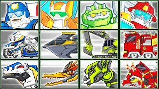 Transformers Rescue Bots: Hero Adventures + Dino Robot Corps #6 | Eftsei Gaming