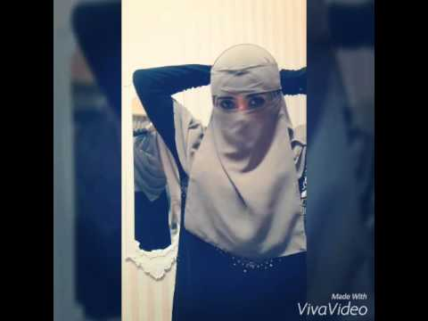 Tutorial niqab style. By naseebaneeqab.