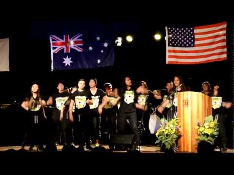 Arthur Phillip High School Dance Team - Global Youth Service Day 2012 At Parramatta High School