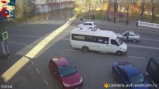 ДТП. Подборка аварий за Октябрь 2018 #11