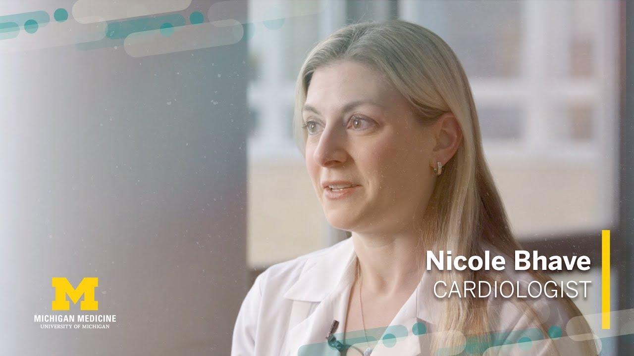 Nicole Bhave, M.D. | Cardiologist, Michigan Medicine #cardiology