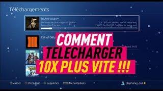 COMMENT TELECHARGER 10X PLUS VITE SUR PS4 !!! #PS4 01 TUTO