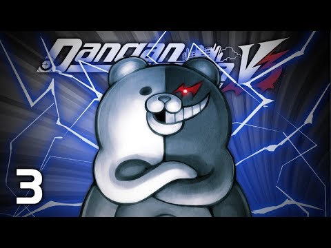 PAPA KUMA - Let's Play - Danganronpa V3: Killing Harmony (DRV3) - 3 - Walkthrough Playthrough