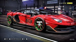 Need for Speed Heat - Lamborghini Aventador SVJ Coupe 2019 - Customize | Tuning Car HD