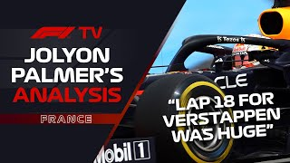 How Verstappen's Lap Caught Mercedes Out | Jolyon Palmer's F1 TV Analysis | 2021 French Grand Prix