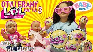 (39.3 MB) 👶🏽 BABY BORN ❤️ OTWIERAMY LOL SURPRISE SERIA 3 😃 LIL SISTERS & PETS 🐶 Mp3
