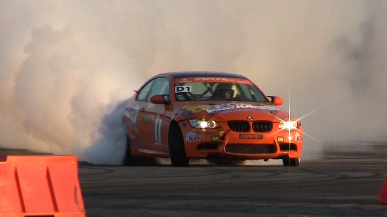 BMW M3 E92 INSANE Drifting U0026 Tires SMOKING!!!   YouTube