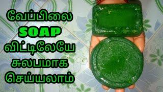 Natural Neem Soap Making at Home in Tamil @ PR YT