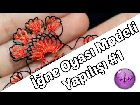 Needle Lace Tutorial #4 - DIY - HD Quality