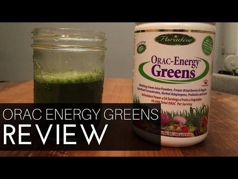 ORAC Energy Greens Review