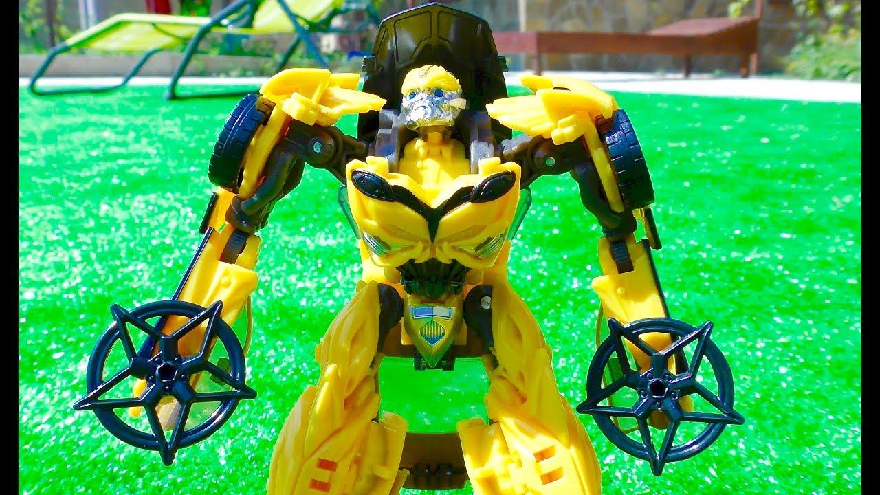 ТРАНСФОРМЕРЫ Автоботы Трансформеры Последний Рыцарь Бамблби Машинки для мальчиков Transformers