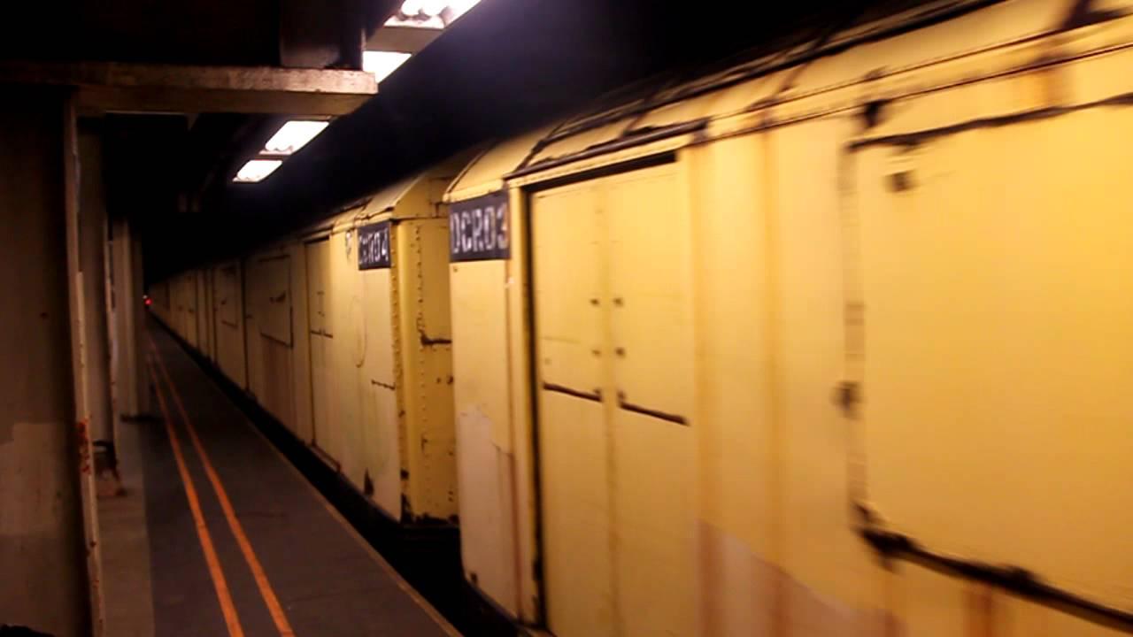 New York Subway Worktrain R52 R47 R33 At 57th Street Seventh