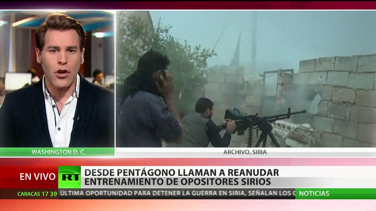 Más leña al fuego?: El Pentágono llama a reanudar el entrenamiento ...