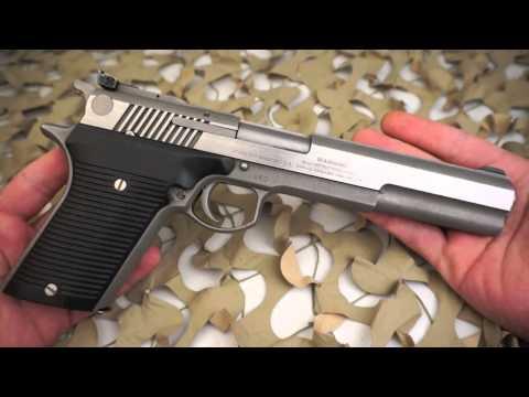 AMT Automag III .30 Carbine Semi Auto Pistol Overview - Texas Gun Blog
