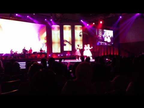 Be3 (Cinta Indonesia & Zamrud Khatulistiwa) at Congress of Indonesian Diaspora 2012