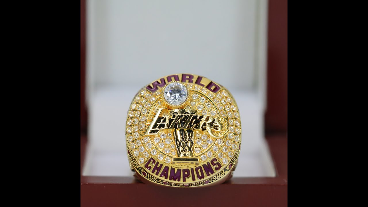 2020 Fans Edition Los Angeles Lakers Championship Ring Premium Series Youtube