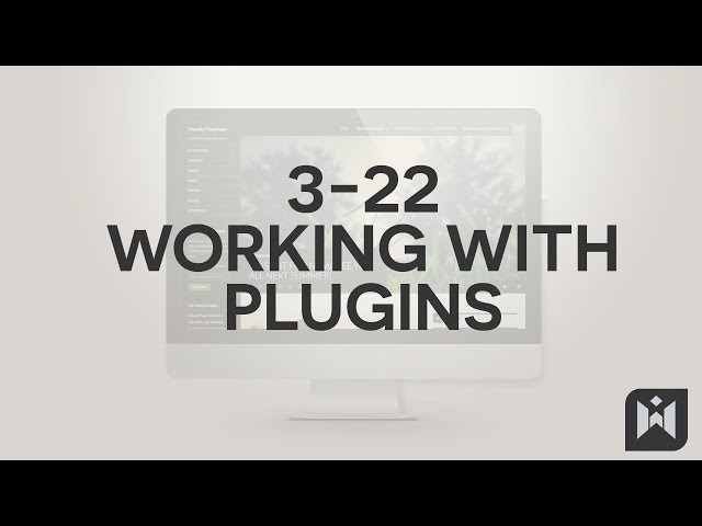 WordPress for Beginners 2015 Tutorial Series | Chapter 3-22: Working with Plugins
