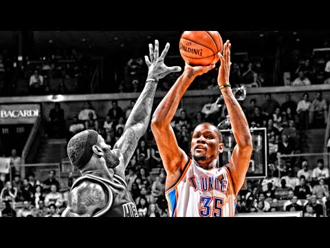 Kevin Durant Shooting Form Slow Motion - YouTube