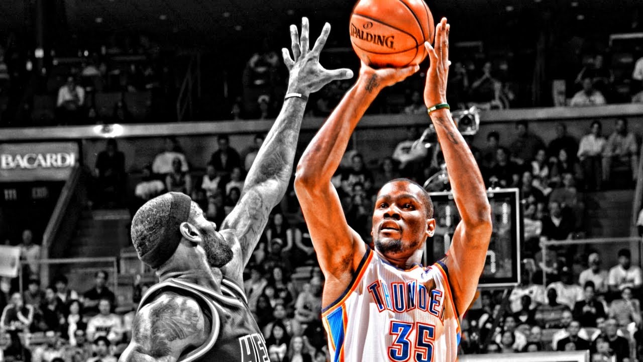 Kevin Durant Slow Motion Shooting Compilation ᴴᴰ - YouTube