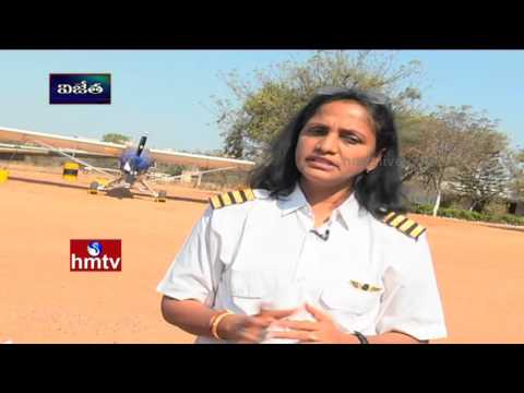 Flytech Aviation Chairman,Pilot Mamatha Kota Life Journey | Vijetha | HMTV Awani