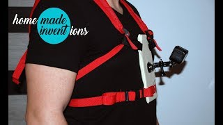 DIY Backpack Mount: GoPro Tips and Homemade Inventions for 2 $ -  Best Camera Position on Chesty