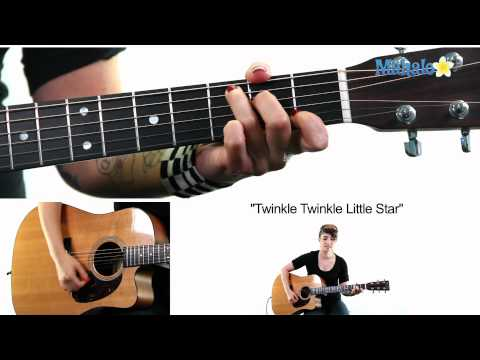 "Learn Guitar: How to Play ""Twinkle Twinkle Little Star"" on Guitar"