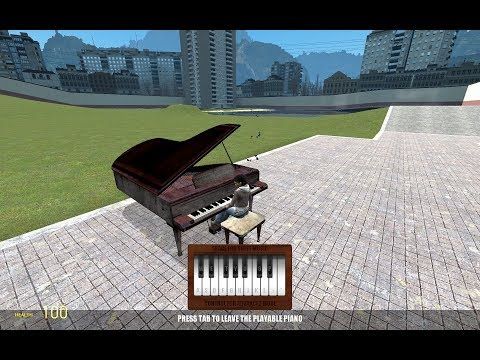 Midi Player Gmod Piano. Как Запускать миди файлы на гмод пианино |Gmod Туториал|
