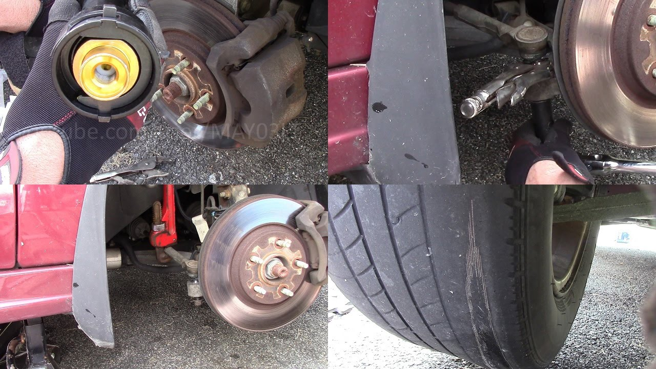 2005 Chevy Malibu tie rod replacement (inner and outer) for clunking noise