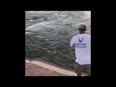 Catching Stripers In Arizona Canals