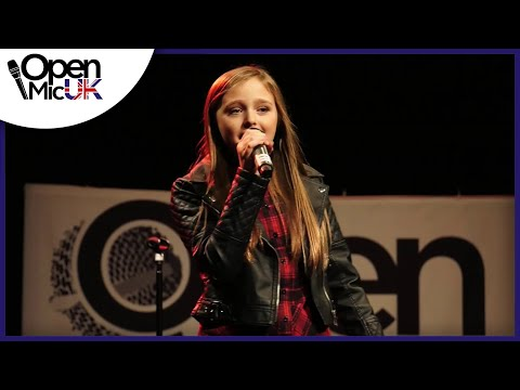 EYES WIDE OPEN – SABRINA CARPENTER performed by REBECCA ATKINSON at Open Mic UK singing contest