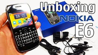 Nokia E6 Unboxing 4k With All Original Accessories Rm-609 Review