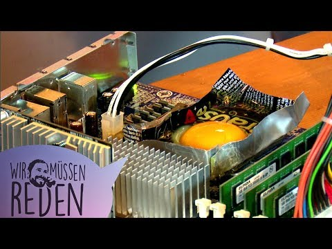 Spiegelei auf der CPU braten & anderer Hardware-Unsinn | Wir müssen reden mit René, gunnar & Krys