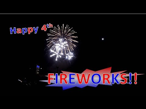 4th July Fireworks 2017 @ Discovery Meadow San Jose