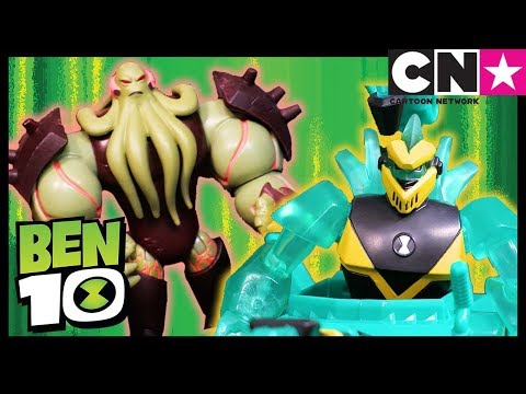 Ben 10 Toy Play For Kids   DIAMONDHEAD POWER TANK Digs For Victory!   Ben 10 Toys   Cartoon Network