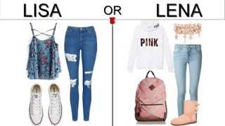 LISA OR LENA 💜