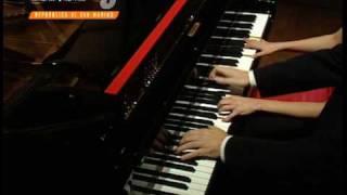 duo imPuls (Barbara & Sebastian Bartmann) Brahms - hungarian dance no 4