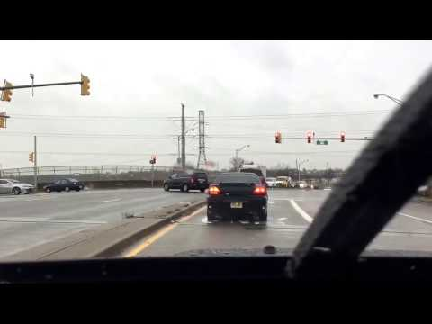 Paterson Plank Road West (take 16): Durango SUV running the left-turn red light