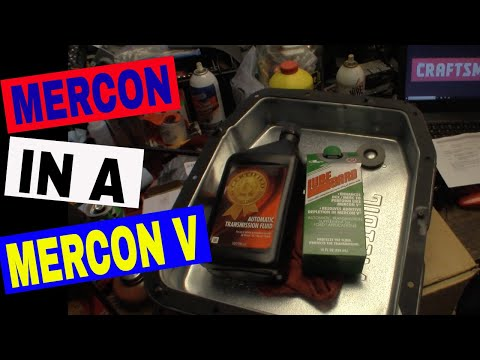 Using Dexron III/Mercon Transmission Fluid in a Ford that