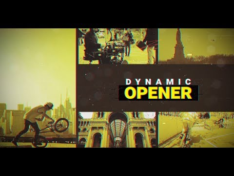 Dynamic Urban Opener ( After Effects Project Files)