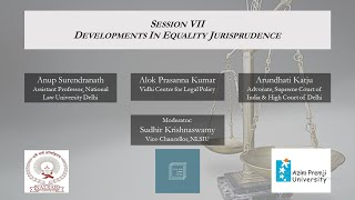 Session VII-Developments In Equality Jurisprudence – The Courts & The Constitution 2020